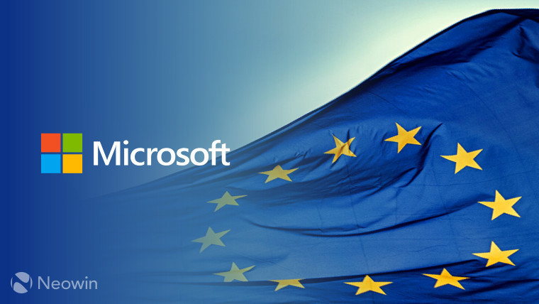 microsoft windows' logo with european union flag by neowin